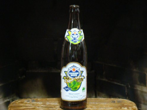 A cerveja orgânica weiss da Marca Schneider ®SKLindemann
